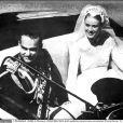 Le mariage religieux en la cathédrale de Monaco de Grace Kelly et du prince Rainier III le 19 avril 1956
