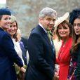 Pippa Middleton assistait avec ses parents Michael et Carole au mariage de Rowena Macrae, sa très bonne amie depuis l'école de cuisine The Grange, et Julian Osborne, qui a eu lieu à Pertshire, en Ecosse, le 26 avril 2014.