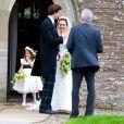 Mariage de Rowena Macrae, très bonne amie de Pippa Middleton, et Julian Osborne, qui a eu lieu à Pertshire, en Ecosse, le 26 avril 2014.