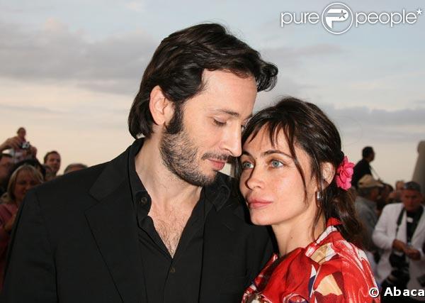 Michaël Cohen et Emmanuelle Béart