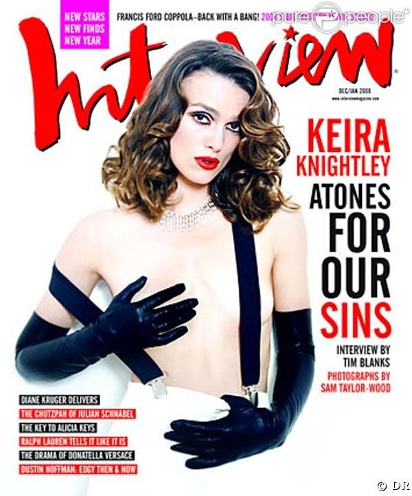 Keira Knightley pour Interview
