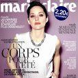Marion Cotillard en couverture du magazine Marie Claire du mois de juin 2014