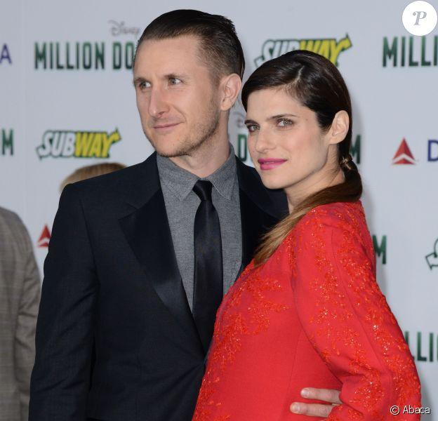 Scott Campbell et Lake Bell lors de l'avant-première du film Million Dollar Arm le 6 mai 2014 à Los Angeles