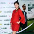 Lake Bell, enceinte, lors de l'avant-première du film Million Dollar Arm le 6 mai 2014 à Los Angeles