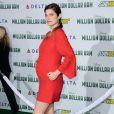 Lake Bell, enceinte de son premier enfant, lors de l'avant-première du film Million Dollar Arm le 6 mai 2014 à Los Angeles