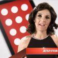 Florence Foresti en Jenifer dans la parodie de The Voice par le Palmashow sur D8.