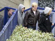Hunger Games 3 : Jennifer Lawrence entre en guerre, Josh Hutcherson très blond