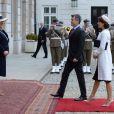 Le prince Frederik et la princesse Mary de Danemark ont débuté le 12 mai 2014 à Varsovie une visite de deux jours en Pologne, reçus par le président Bronislaw Komorowski et son épouse Anna.