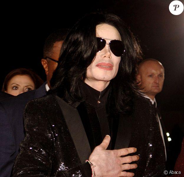 Michael Jackson à Londres, le 15 novembre 2006.