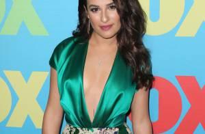 Lea Michele : Plus sexy que jamais, elle affiche un decolleté très plongeant !