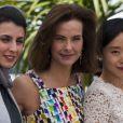 Leila Hatami, Carole Bouquet et Do-yeon Jeon lors du photocall du jury du Festival de Cannes du 14 mai 2014