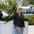 La présidente Jane Campion lors du photocall du jury du Festival de Cannes du 14 mai 2014