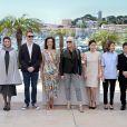 Gael Garcia Bernal, Zhangke Jia, Sofia Coppola, Do-Yeon Jeon, la présidente Jane Campion, Carole Bouquet, Nicolas Winding Refn, Leila Hatami, Willem Dafoe lors du photocall du jury du Festival de Cannes du 14 mai 2014