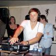 Martin Solveig mixe à La Grange