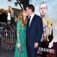 Molly Sims et Scott Stuber lors de l'avant-première du film Albert à l'Ouest à Los Angeles le 15 mai 2014