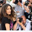 """Salma Hayek lors du photocall """"Hommage au cinéma d'animation"""" et la présentation du projet """"The Prophet"""", lors du 67e Festival international du film de Cannes, le 17 mai 2014"""