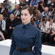 """Amira Casar -  Photocall du film """"Saint Laurent"""" lors du 67e festival international du film de Cannes, le 17 mai 2014."""