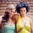 Beyoncé a publié le 17 mai 2014 une photo d'elle et de sa soeur Solange à la Nouvelle-Orléans.