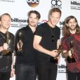 Imagine Dragons sur le tapis rouge des Billboard Music Awards à Las Vegas, le 18 mai 2014.