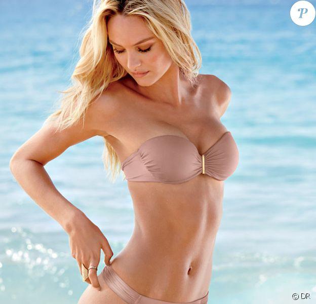 Candice Swanepoel, irrésistible en bikini pour Victoria's Secret.