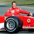 Michael Schumacher sur le circuit du Mugello, le 24 janvier 2006