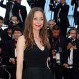 """Zoé Bruneau - Montée des marches du film """"Pour une poignée de dollars"""" pour la cérémonie de clôture du 67e Festival du film de Cannes le 24 mai 2014"""