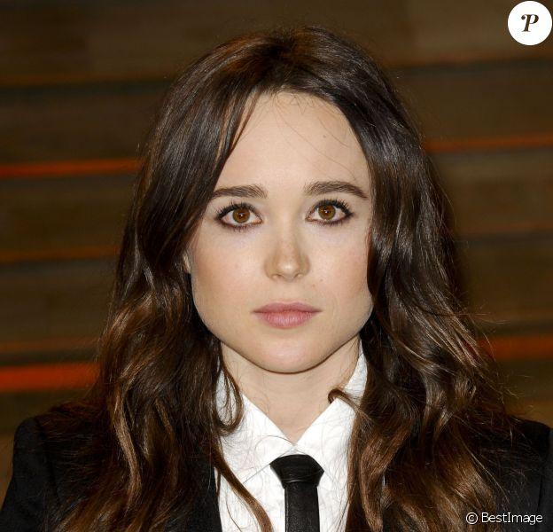 Ellen Page à la soirée Vanity fair après les Oscars 2014 à West Hollywood. Le 2 mars 2014