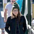 Ellen Page va dejeuner au restaurant à West Hollywood, le 16 janvier 2014.