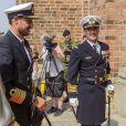 Le prince héritier Frederik de Danemark et le prince héritier Haakon de Norvège participaient ensemble le 23 mai 2014 à une cérémonie à la cathédrale de Roskilde pour le bicentenaire de la constitution norvégienne.