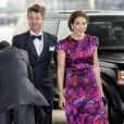 Crown Prince Frederik, Crown Prince Haakon, Crown Princess Mary, Queen Sonja and Queen Margrethe arrive at a Gala event in the Royal Opera in Copenhagen, Denmark on May 23, 2014. Photo by Dana Press/ABACAPRESS.COM24/05/2014 - Copenhagen