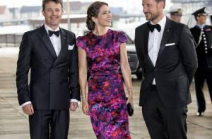 Princesses Mary et Marie de Danemark : Élégantes pour Haakon et Sonja de Norvège