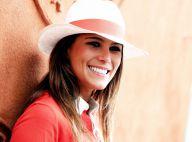 Roland-Garros 2014 : Karine Ferri radieuse avec son frère face à Estelle Denis