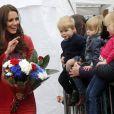 Kate Middleton et le prince William, connus comme la comtesse et le comte de Strathearn en Ecosse, ont achevé leur visite dans le Perthshire par une visite à la fête de Forteviot, le 29 mai 2014