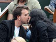 Jade Foret et Arnaud Lagardère amoureux : Tendres baisers à Roland-Garros