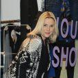 Sophie Favier, dans sa boutique de vêtements à Neuilly, le 10 novembre 2012.