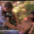 """"""" Thierry Costa examine Charles dans Koh Lanta 2012 - vidéo mise en ligne par le site du Figaro """""""