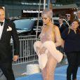 Rihanna, habillée d'une robe transparente Adam Selman, assiste aux CFDA Fashion Awards à l'Alice Tully Hall, au Lincoln Center. New York, le 2 juin 2014.