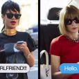Voici le clip de Rihanna et Anna Wintour en pleine (et fausse !) discussion par texto, diffusé avant la remise du prix d'Icône Mode remis à la chanteuse par la redoutable rédac' chef de Vogue.