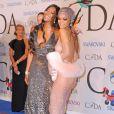Naomi Campbell et Rihanna assiste aux CFDA Fashion Awards 2014 à l'Alice Tully Hall. New York, le 2 juin 2014.