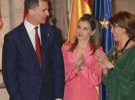 Letizia d'Espagne, bientôt reine, boit les paroles de son roi de coeur, Felipe