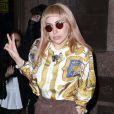 Lady Gaga se promène dans les rues de New York. Le 14 mai 2014.