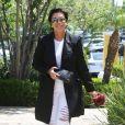 Kris Jenner se rend à un déjeuner à Calabasas, le 6 juin 2014
