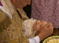 Princesse Leonore de Suède : Toute sage à son baptême, la famille royale en joie
