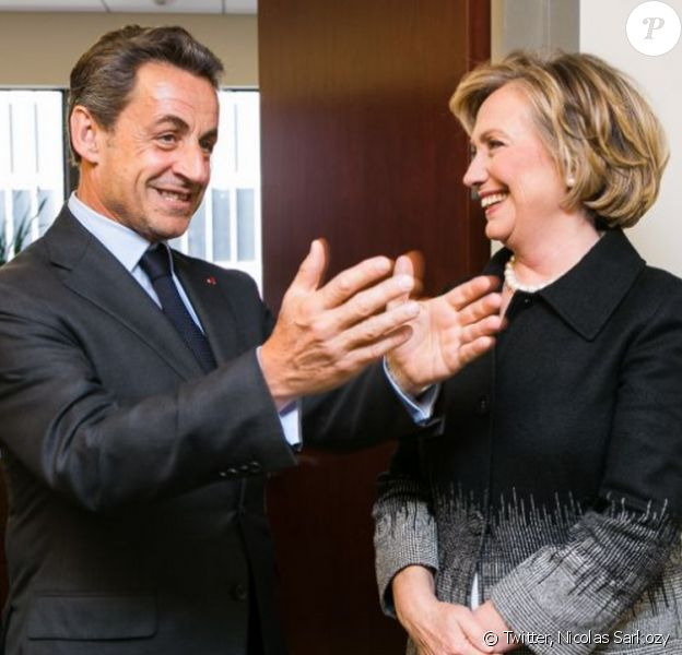 En avril 2014, Hillary Clinton et Nicolas Sarkozy se retrouvaient à New York pour une rencontre amicale.