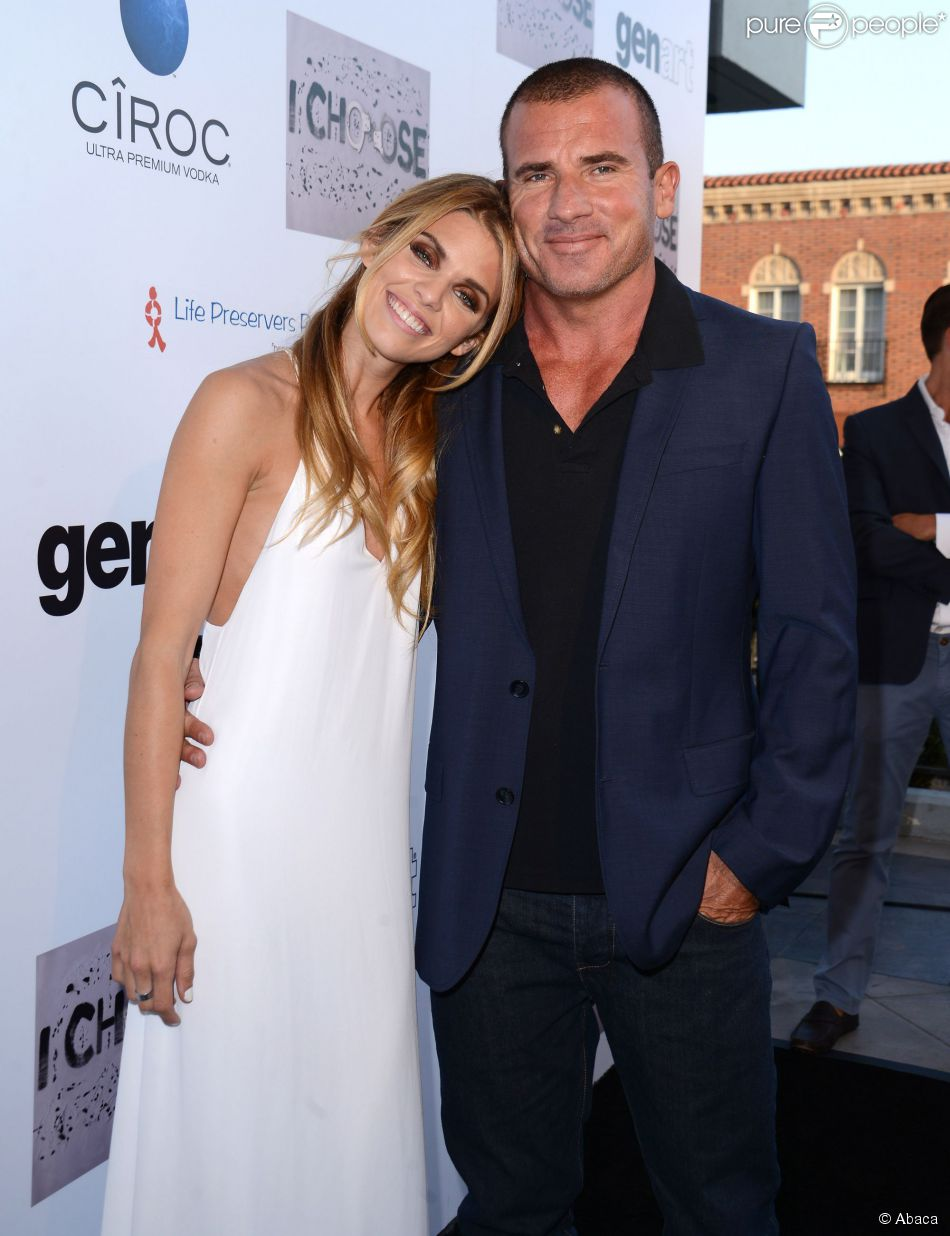 Dominic Purcell And Annalynne Mccord The gallery for -->...