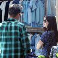 Courteney Cox fait du shopping avec son ex-mari David Arquette, le 12 juin 2014 à Los Angeles.