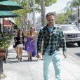 David Arquette a emmené sa fille Coco faire du shopping dans les rues de Beverly Hills pour son anniversaire, le 12 juin 2014.