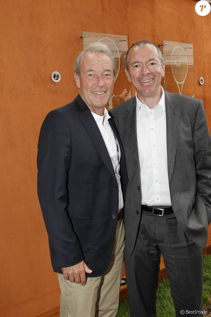 Robin leproux droite avec christophe chenut roland - Philippe timsit henri porte des lilas ...
