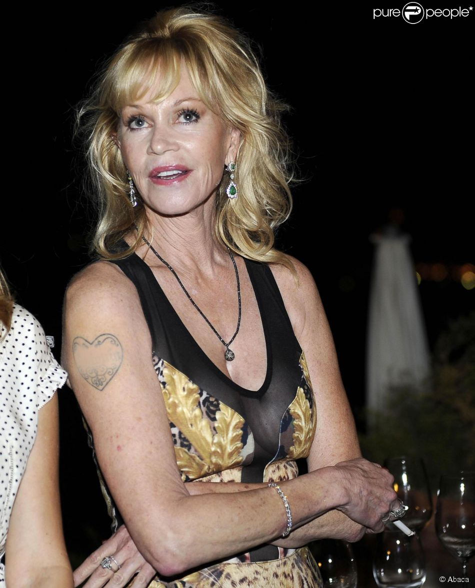 Melanie Griffith lors du Taormina Film Festival en Italie le 17 juin 2014