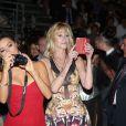 Eva Longoria et Melanie Griffith lors du Taormina Film Festival en Italie le 17 juin 2014